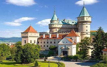 Lázně Bojnice na Slovensku 3 dny pro 2 s chutnou polopenzí a wellness až do Velikonoc