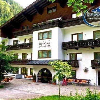 Rakouské Alpy s polopenzí a půjčením kol