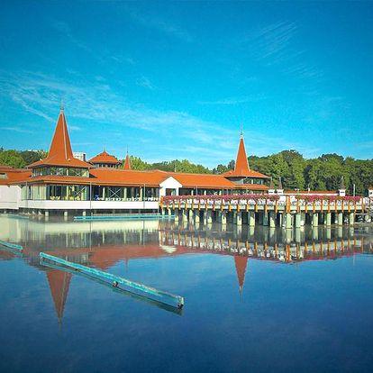 Maďarské jezero Hevíz pro DVA s neomezeným vstupem do wellness