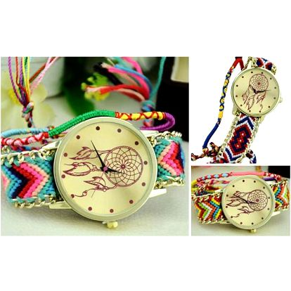 Barevné dámské hodinky Indiana