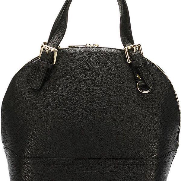 Kožená kabelka Giorgio Costa 5929 Black - doprava zdarma!