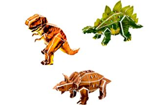 3D puzzle Dinosauři!
