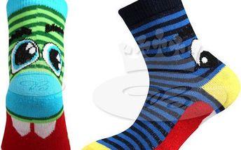 Dětské ponožky Tlamík 3 páry!