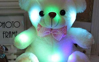 Svítící plyšový medvídek - poštovné zdarma