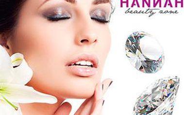 Hodinové ošetření pleti diamantovou mikrodermabrazí s aplikací ampulky Retinolu a ruční masáž pleti.