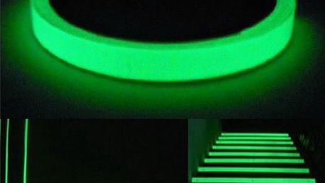 Lepící páska svítící ve tmě - 1 m - poštovné zdarma
