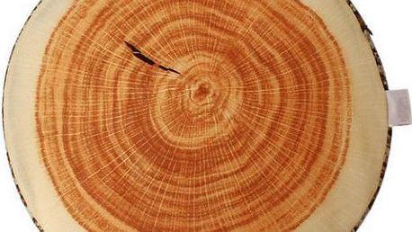Dřevěný polštář Letokruh