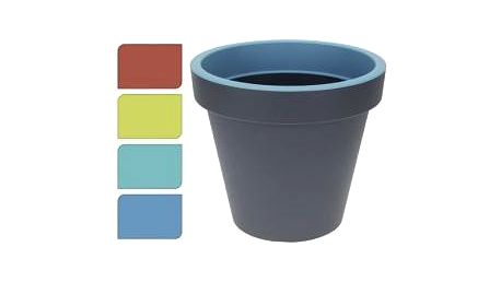 Květináč 25 cm, modrý EXCELLENT KO-Y54191880modr