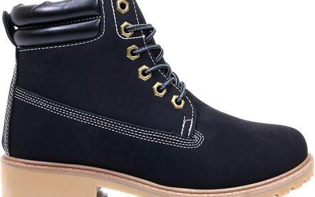 Podzimní boty - farmářky E17B 38