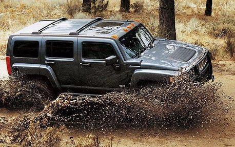 Adrenalinová jízda terénem v Hummeru H3