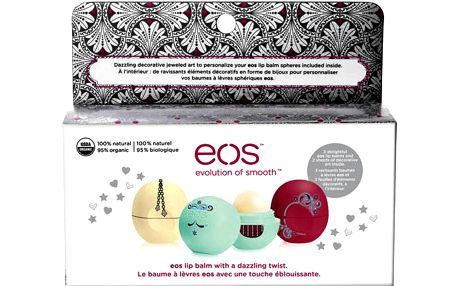 Eos Limited Edition Holiday 2015 balzám na rty 3 x 7 g