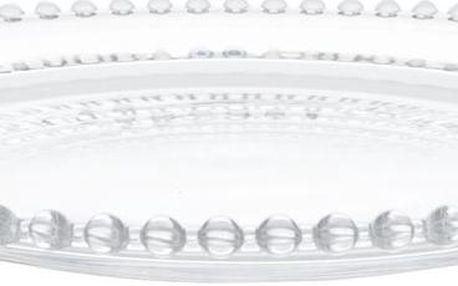 Skleněný tác Glass, 31 cm