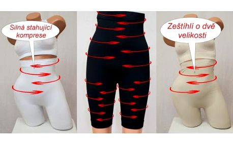 Kompresní kraťasy se sauna efektem proti celulitidě