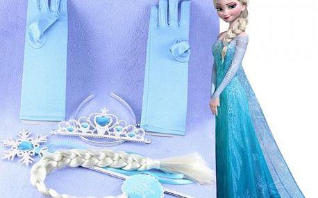 Korunka, cop, rukavice a žezlo Královna