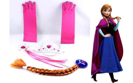 Korunka, cop, rukavice a žezlo Princezna