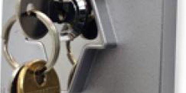 Držák na klíče - panenka