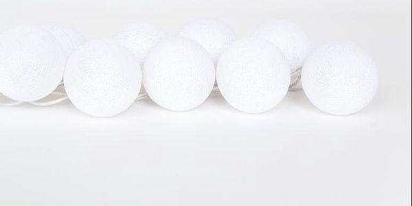 Světelný řetěz Snowball, 35 kuliček
