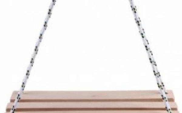 Dřevěná houpačka pro děti na zavěšení!