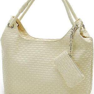 Lesklá stylová kabelka - 2 barvy