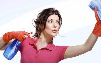 Profesionální úklid, mytí oken či žehlení