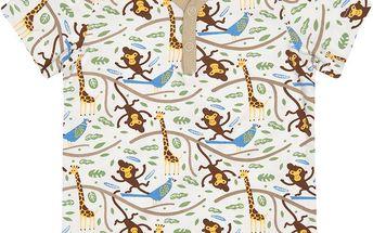 nOeser Bílé tričko džungle, 50 cm