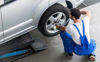 Výměna celých kol nebo přezutí pneumatik