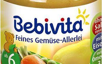 Bebivita Jemná zeleninová směs 6x190g