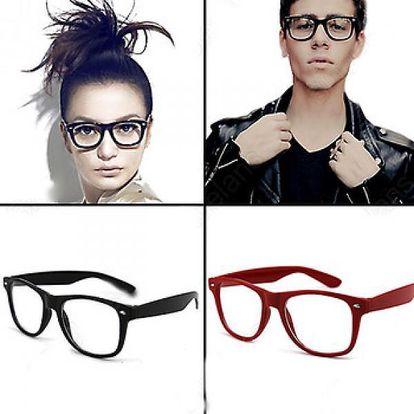 Módní čiré brýle LENS - pro dokonalý look!