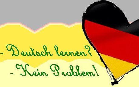 20 hodin němčiny pro falešné začátečníky - čtvrtek 18.00 - 19.30 s lektorkou Hankou