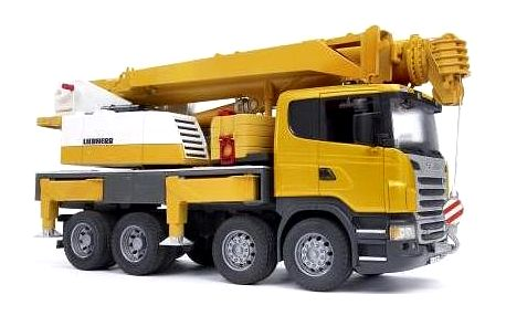 Bruder Scania autojeřáb Liebherr
