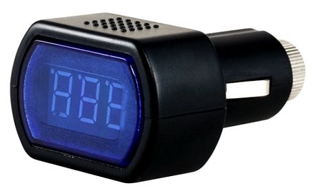 Digitální voltmetr do auta - dodání do 2 dnů