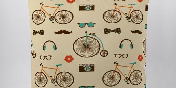 Polštář Vintage Bikes