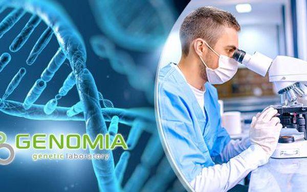 Genealogický DNA test mateřské nebo otcovské linie! Vypátrejte svůj původ až o 80 000 let zpátky.