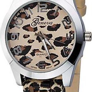 Módní hodinky leopard