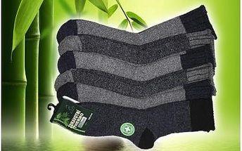 Doprodej!! Pět párů termo ponožek pro maximální pohodlí. Hřejivé thermo ponožky výborně sedí na noze, mají systém pro odvod potu a zabrání prochladnutí. Velikosti i barvy pro muže a ženy!