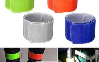 Svinovací reflexní páska ve více barvách