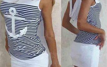 Dámské námořnické šaty Marine!