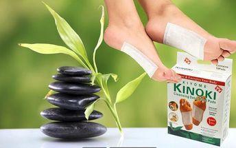 Jenom 179Kč za 3 balení detoxikačních náplastí Kiyome Kinoki