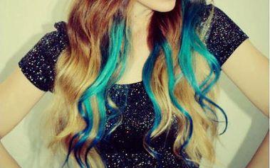 Clip-In barevné prameny do vlasů - osvěžte svůj nudný účes!