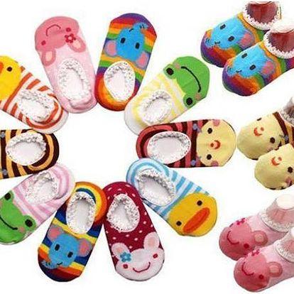 Dětské ponožky pro malé nožičky!