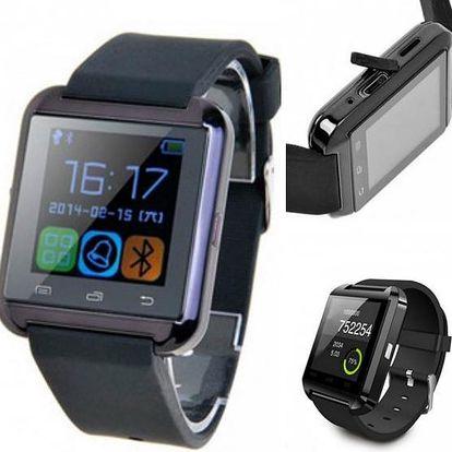Chytré hodinky Smartwatch, se kterými můžete i telefonovat!