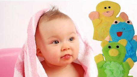 Zvířátková žínka pro děti - i koupání může být legrace!