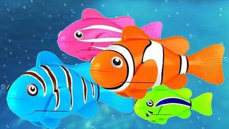 Dvě robotické rybičky - pořiďte dětem domácí mazlíčky!