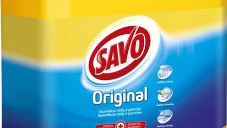 Dezinfekční přípravek Savo Original 5 l ideální do koupelny