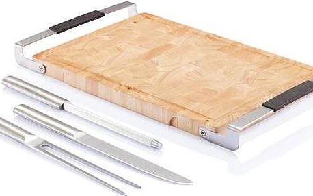 Sada tří kuchyňských nástrojů s prkénkem