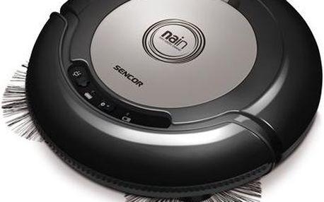Tichý robotický vysavač SENCOR SVC 7020BK uklidí za vás