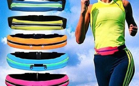 Reflexní sportovní pás na běh, turistiku kolo a další sporty