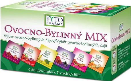 Ovocno-bylinný MIX čajů 30 x 2 g Fytopharma