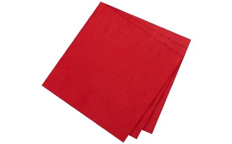 Tescoma ubrousky pro stolování FLAIR, granátová barva
