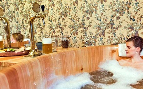 Romantický pobyt s pivní lázní a degustací